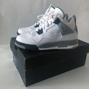 Jordan 4 white cements